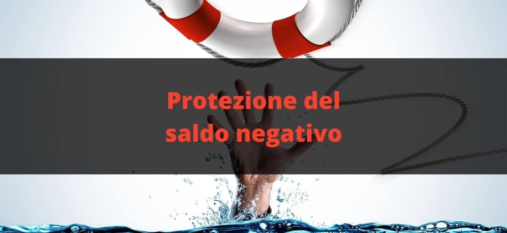 Protezione del saldo negativo